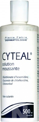 Cyteal solution moussante