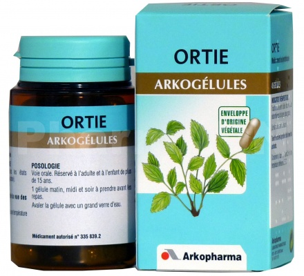 Arkogélules ortie