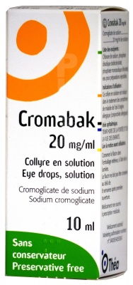 Cromabak 20 mg/ml