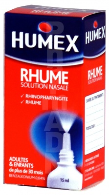 Humex Rhume Solution Nasale 0,04 %