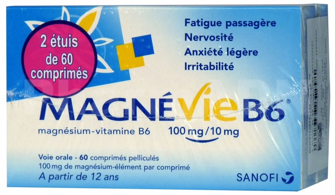 Magnevie b6 100 mg/10 mg