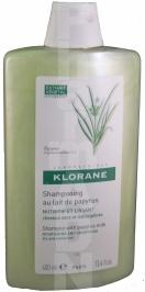 Shampooing KLORANE au lait de papyrus