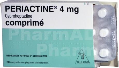 Periactine 4 mg