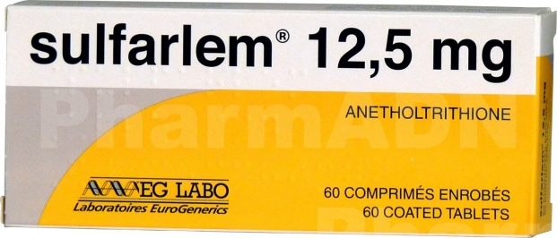 Sulfarlem 12,5 mg