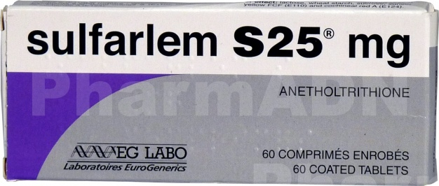 Sulfarlem s 25 mg