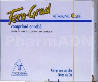 Fero-grad vitamine c 500