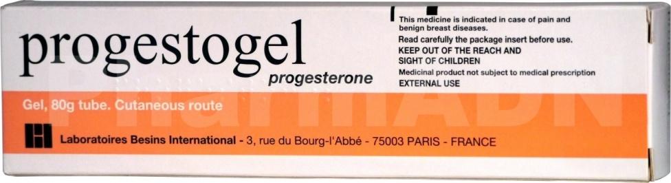 Progestogel 1 %