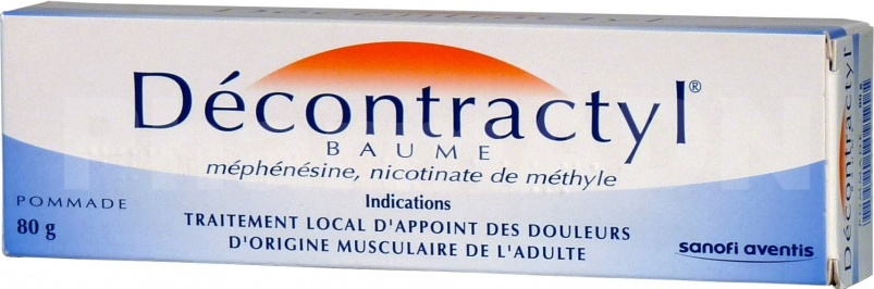 Decontractyl baume