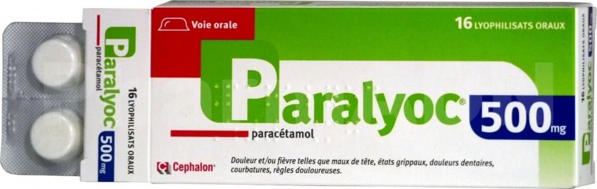Paralyoc 500 mg
