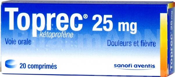 Toprec 25 mg