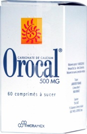 Orocal 500 mg