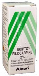 Isopto pilocarpine 2 %
