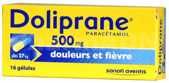 Doliprane 500 mg