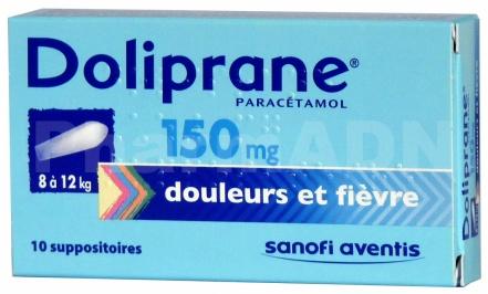Doliprane 150 mg