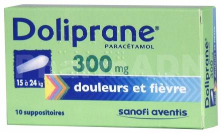 Doliprane 300 mg