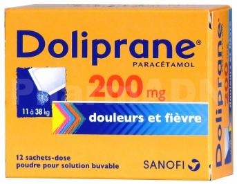 Doliprane 200 mg