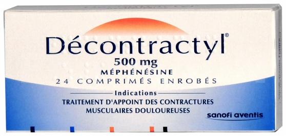 Decontractyl 500 mg