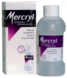Mercryl solution moussante
