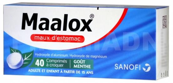 Maalox maux d'estomac
