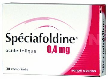 Spéciafoldine 0,4 mg