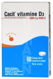 Cacit Vitamine D3 500 mg/440 UI