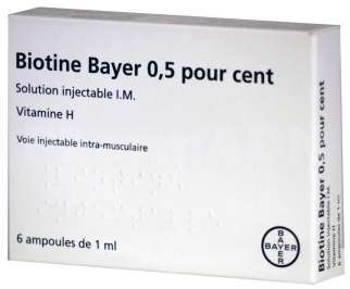 Biotine Bayer 0,5 %