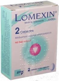 Lomexin 600 mg