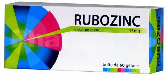 Rubozinc 15 mg