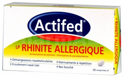 Actifed LP - Rhinite allergique