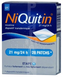 Niquitin 21 mg/24 heures