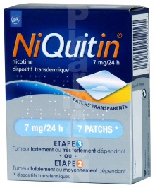 Niquitin 7 mg/24 heures