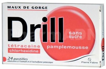 Drill sans sucre pamplemousse