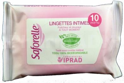 Saforelle Lingettes Hygiène intime