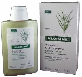 Klorane Capillaire - Shampooing au lait de Papyrus