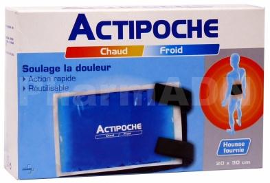 Actipoche Coussin Thermique contre la douleur 20x30cm