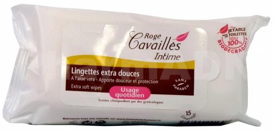 Rogé Cavaillès intime Lingette hydratante