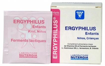 Ergyphilus Enfants Ferments lactiques