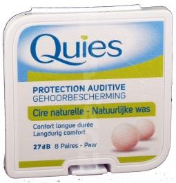 Quies boules protection auditive cire naturelle
